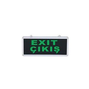 exit-cikis-tek-yon-levha-duvar-tipi